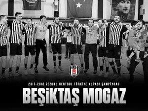 Beşiktaş Mogaz Türkiye Kupası şampiyonu!