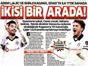 Siyah - beyaz manşetler!