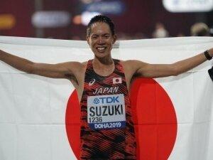 Atletizm'de Suzuki ve Liang kazandı
