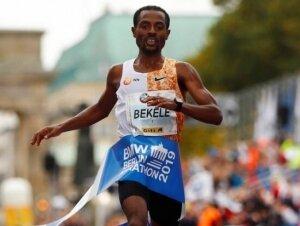 Berlin Maratonu'nu Bekele kazandı