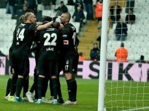 Beşiktaş ligin altını üstüne getirdi