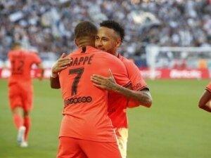Neymar'dan Mbappe'ye övgüler!