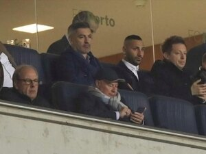Quaresma, Porto-Liverpool maçını izledi!