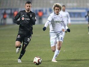 Beşiktaş, Erzurum'da 90+1'de dondu!