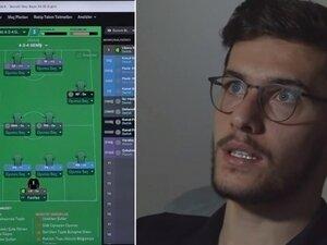 Umut Nayir, Football Manager oynadı