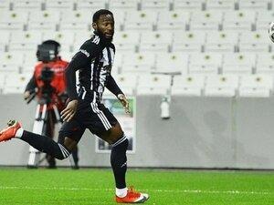 Beşiktaş'tan Nkoudou için sakatlık açıklaması
