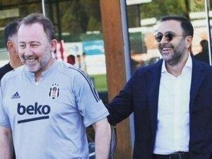 Beşiktaş'tan Sergen Yalçın açıklaması